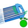 Wolfram elektróda W zöld - Ø 2,0 x 175 mm