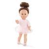 Götz Giuseppina Just Like Me baba, balettos (27 cm, barna szemű, barna hajú, 2016)