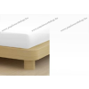 Jersey gumis lepedő, 140-160x200 cm, 135 g/nm, Fehér
