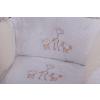 2 részes szavanna állatai prémium babaágynemű szett