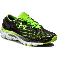 Under Armour Félcipő UNDER ARMOUR - Ua Speedform Gemini 2.1 1288353-002 Blk/Wht/Hyg