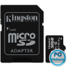 Kingston 32GB microSDHC CL10 UHS-I Industrial Temperature + adapterrel