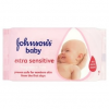 Johnson's baby popsitörlő 56 db extra sensitive
