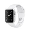 Apple Watch Series 2 - 38 mm-es, ezüst színű alumíniumtok fehér sportszíjjal