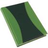 REALSYSTEM Prémium-A B6 heti beosztású zsebnaptár, Zöld