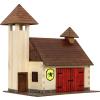 WALACHIA fa építőjáték modell - tűzoltóság