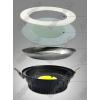 Nox 15W COB LED mélysugárzó lámpa kerek 1500 Lumen álmennyezetbe építhető