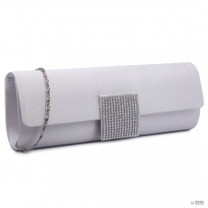 Miss Lulu London LY6681-női Satin Envelope Táska Clutch táska for estélyi Party Bridal Wedding val Detachable Lánc szíj