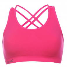 USA Pro női sportmelltartó - USA Pro Seamless Crop Sports Bra