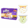 Pufies Baby Art&Dry Midi 3 pelenka, Carry pack, 40 db, Neutral Bees modell (3800024028403)