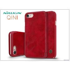 Nillkin Apple iPhone 7 oldalra nyíló flipes tok - Nillkin Qin - piros tok és táska