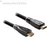 DELOCK HDMI 1.4 M/M video jelkábel 2m 3D,4K support, PREMIUM