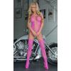 Softline Pink szexis nyitott szexruha S-L