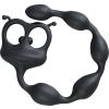 Fun Factory Hangya alakú fekete anál izgató füzér - flexibilis