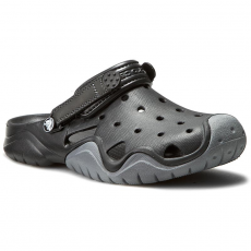 CROCS Papucs CROCS - Swiftwater Clog M 202251 Black/Charcoal