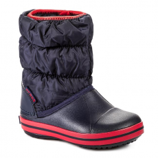CROCS Hótaposó CROCS - Winter Puff 14613 Navy/Red
