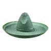 Sombrero kalap zöld színben 50 cm