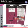 Myscreen Alcatel Pixi 4 (5) ; (OT-5010) Kijelzővédő Fólia 1db Áttetsző MSP