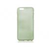 Apple iPhone 6 Plus / 6S Plus, TPU szilikon tok, Jelly Brush, szálcsiszolt mintázat, zöld