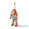 Babyono kordbársony zenélő kutya 1124