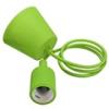 - E27-es függeszték (minimal lámpatest) - zöld