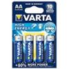 Varta High Energy alkáli AA ceruza elem - (4 db)