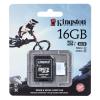 Kingston micro SD Action Camera 16GB Class U3 +adapter