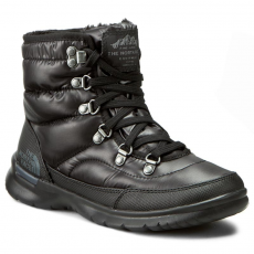 The North Face Hótaposó THE NORTH FACE - Thermoball Lace II TONF0A2T5LNSW-050 Shiny TNF Black/Iron Gate Grey