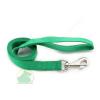 25 mm x 2 m nylon póráz füllel, normál karabínerrel zöld