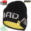 D.A.M MAD KNITTED BEANIE WITH FLEECE