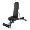 Capital Sports CAPITAL SPORTS Compactar Plus, edzőpad súlyzós edzéshez és felüléshez, fém, állítható