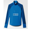 Adidas Blúz termolépés▶ywna adidas Techfit Coldweather 1/2 Zip W S94432 blúz