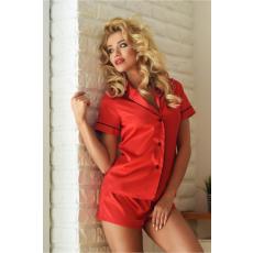 Kalimo Szatén pizsama Model Imperia piros