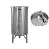 Zottel Úszófedeles INOX bor tartály 80 l pumpás szettel