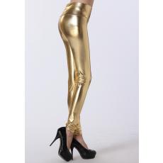 Arany Magas derekú Leggings