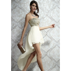Charming Long beige ruha