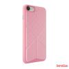 OZAKI O!coat 0.3 + Totem Versatile,iPhone 7 bőr tok,Pink
