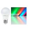 Globál Global színes RGB LED izzó E27 7,5W (15 ezer Ft felett ingyenes szállítás)