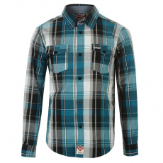 Lee Cooper gyerek ing - Check - Lee Cooper Check Shirt Boys