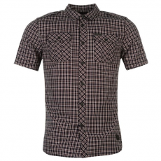 Firetrap férfi ing - Firetrap Blackseal Patriot Check Shirt