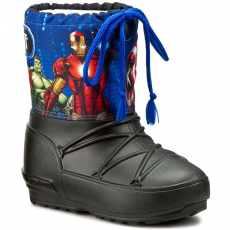 Moon Boot Hótaposó MOON BOOT - Pod Jr Avengers 34021000001 Black/Navy/Red