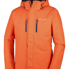 Columbia Alpine Vista Jacket Síkabát,snowboard kabát D (WM1066-p_821-Tangy Orange)