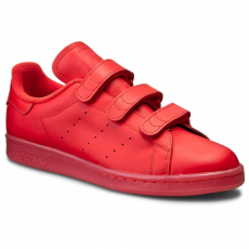 Adidas Cipők adidas - Stan Smith Cf S80043 Red/Red/Red