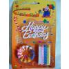 Torta gyertya + Happy Birthday felirat