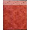 Bianka kispárnahuzat, 36x48 cm, Labirintus narancs - Billerbeck
