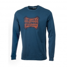 Columbia CSC Classic Patch Long Sleeve Hosszú ujjú póló D (1694991-p_452-Night Tide)