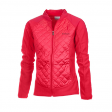 Columbia Warmer Days II Full Zip Polár,softshell D (1684531-p_637-Punch Pink)