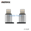 REMAX RA-USB2 Micro USB - Apple 8PIN Adapter - Ezüst