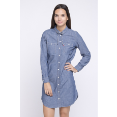 Levi's LS Chambray Workwear Dress Női farmer ing