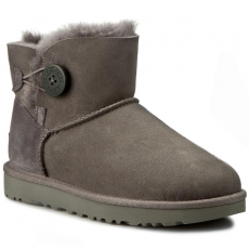 Ugg Australia Cipők UGG AUSTRALIA - W Mini Bailey Button II 1016422 W/Grey